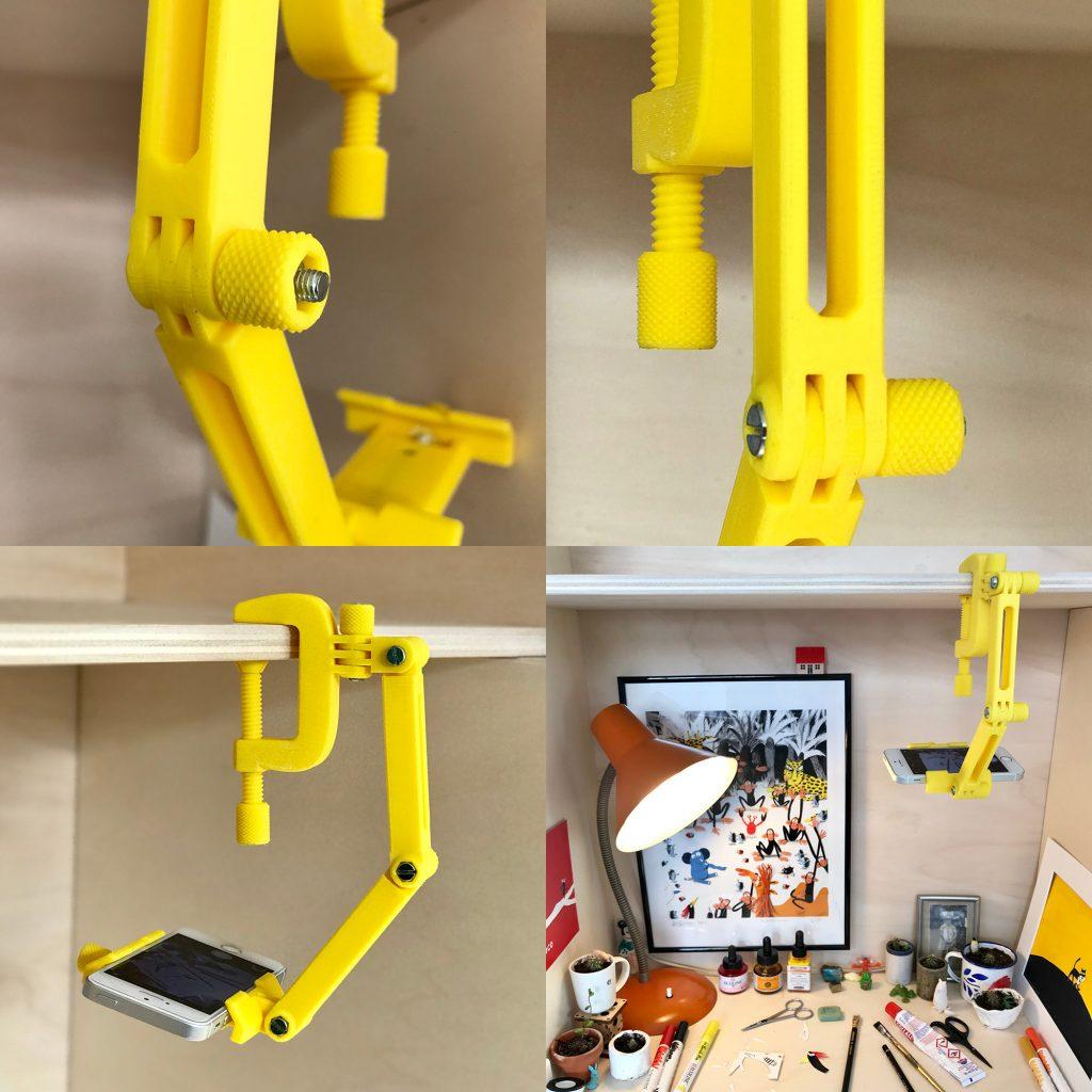 modular mounting system thingiverse abs test print sindoh 3dwox 1