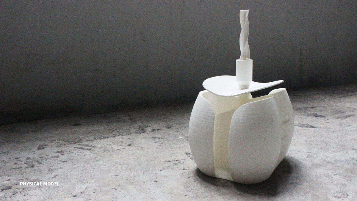 Big Arse 3D Printed Toilet Turns Waste Into Energy