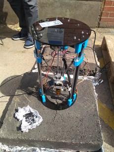 Asphalt 3D Printing Drone Repairs Roads