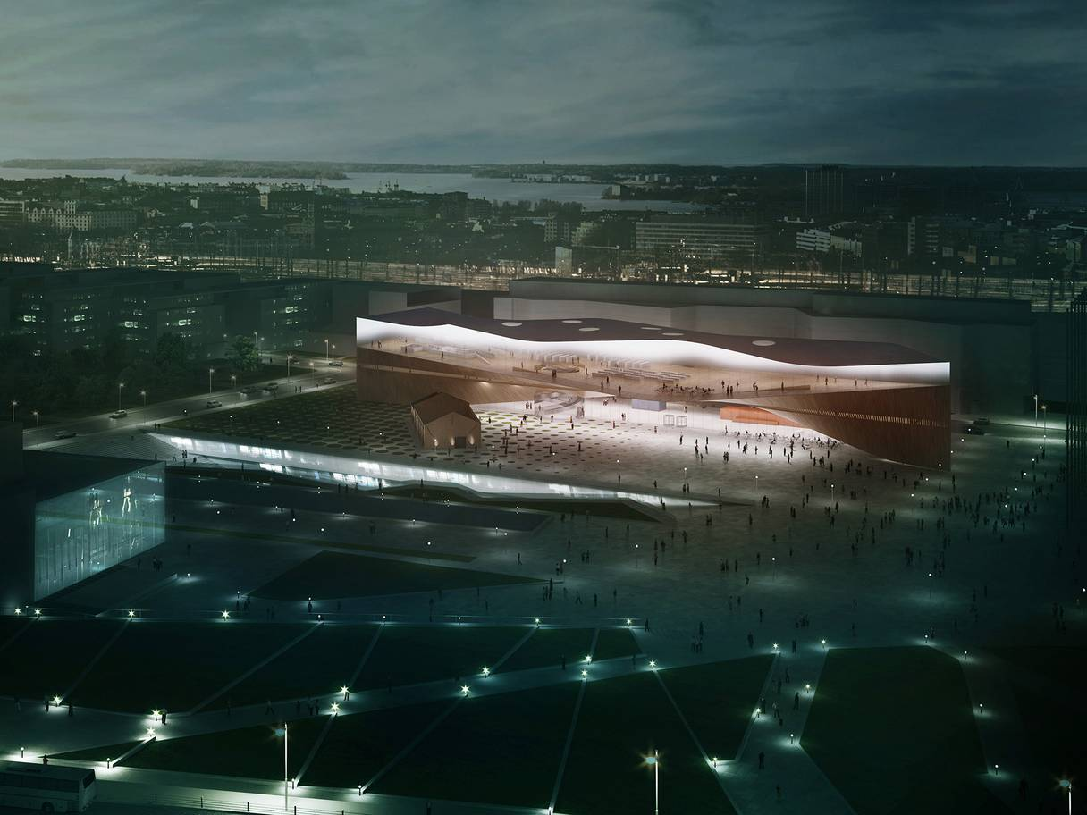 Helsinki Library Launches