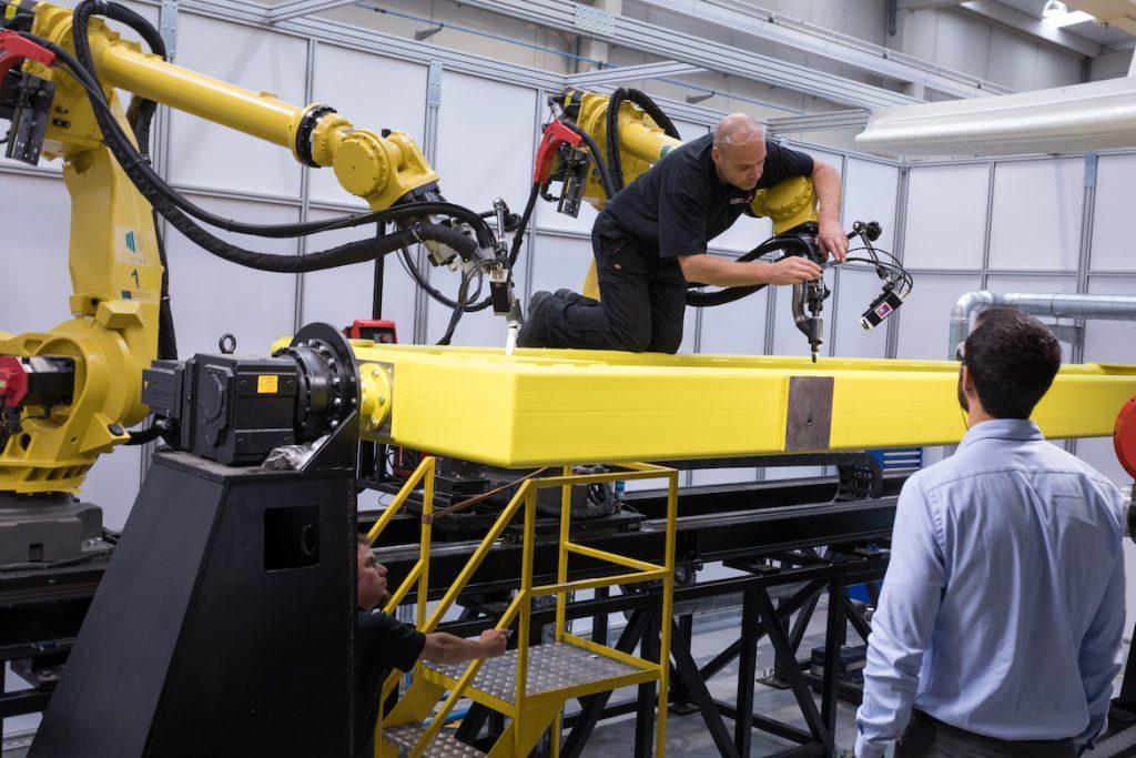 LASIMM Hybrid Machine Prints Large Metal Parts