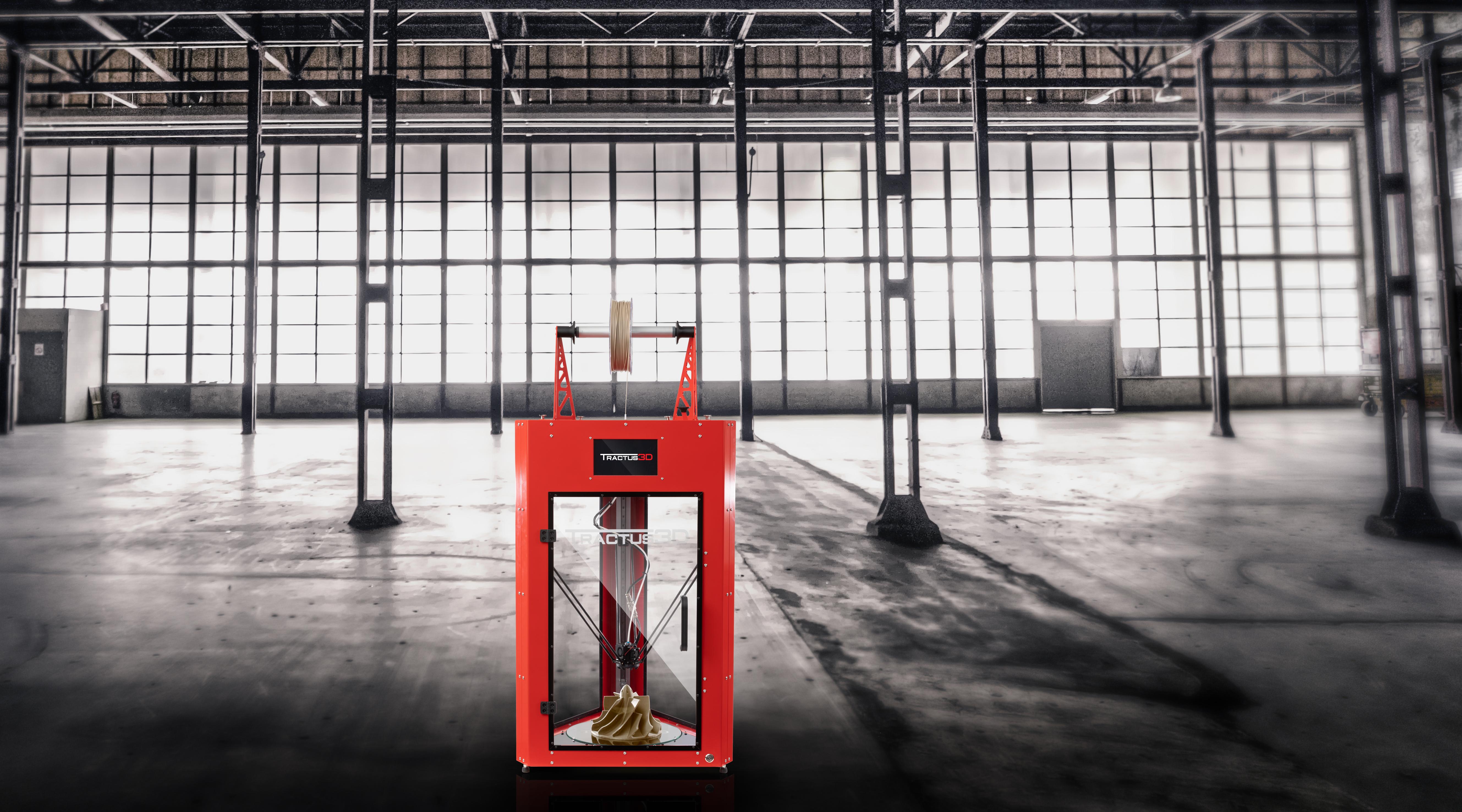Tractus3D Launches The T850P PEEK 3D Printer