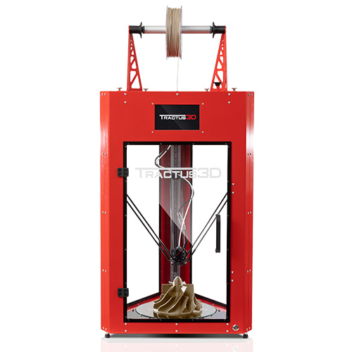 T850P Tractus3D PEEK and Ultem 3D printer