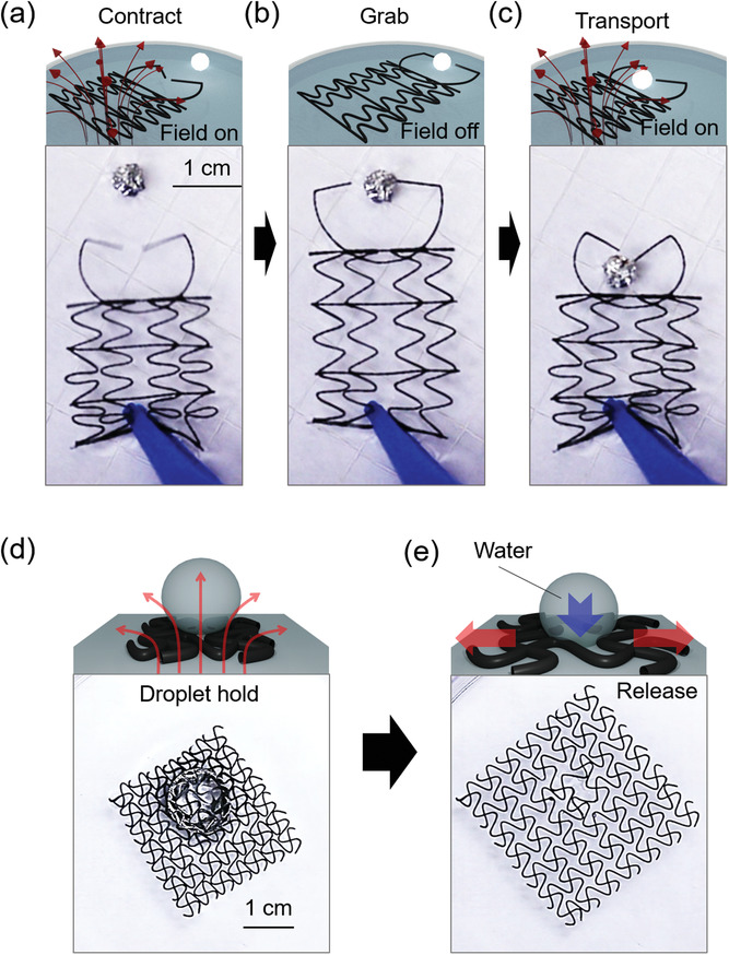 Mesh Robots Float & Grab Objects On Command