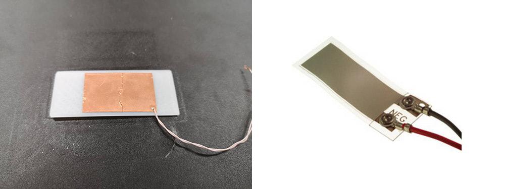 3d Printed PVDF sensor and production sensor