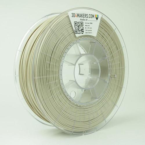 3d4makers peek filament 1.75mm 500 gram