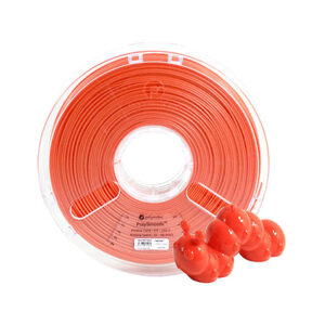 Polymaker PolySmooth PVB, 1.75mm, 750g Spool, Red