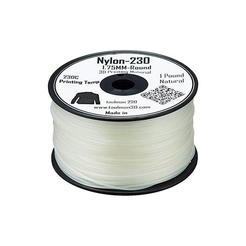 Taulman 230 Nylon, 1.75mm, 450g Spool, Natural