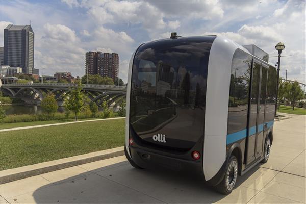Olli: 3D Printed Autonomous Shuttle Debuts in California