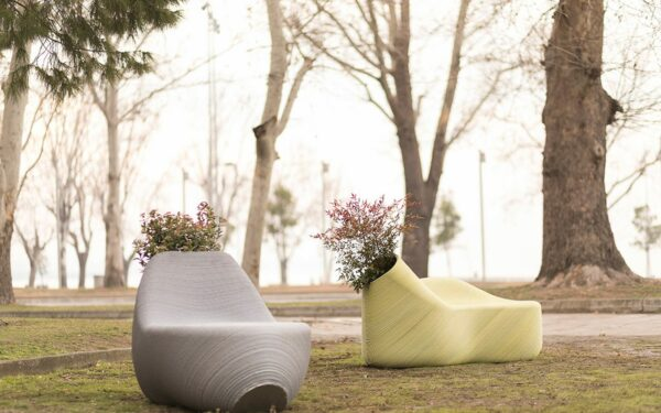 Print Your City 3D Prints Outdoor Furniture From Recycled Plastic