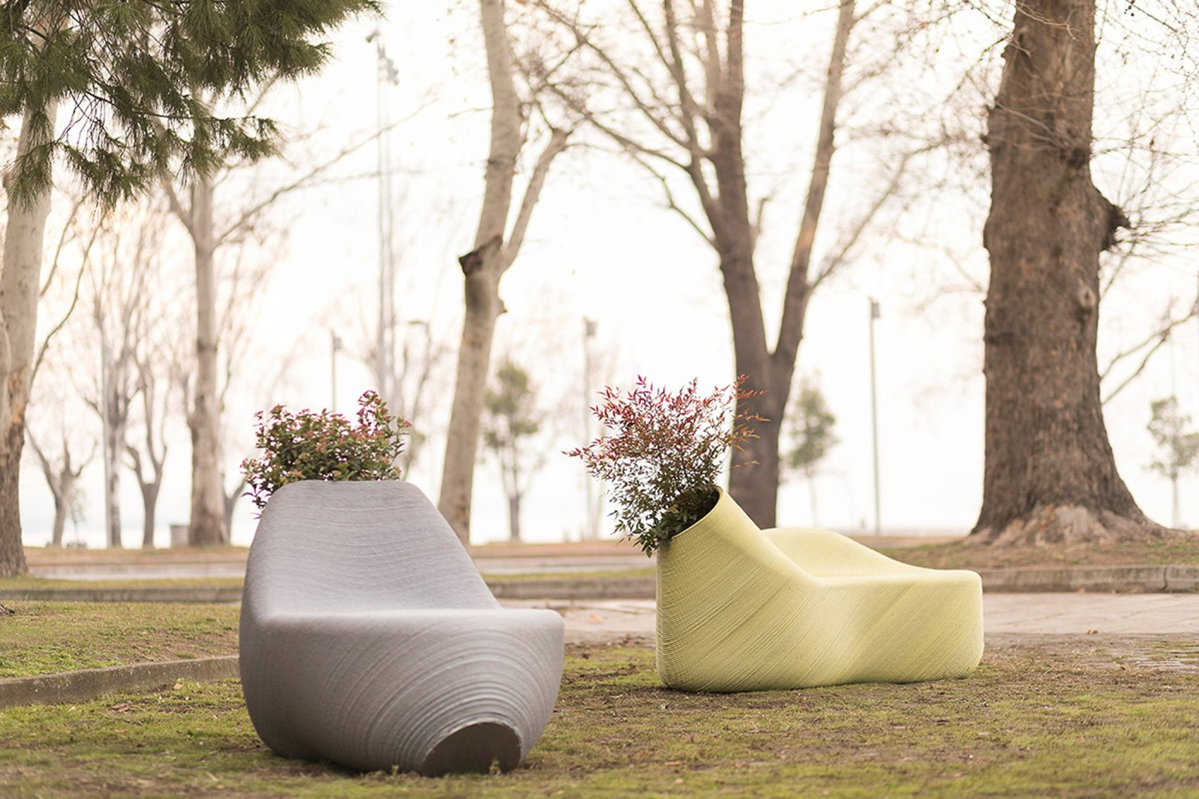 Print Your City Makes Outdoor Furniture From Recycled Plastic