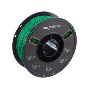 AmazonBasics PLA, 1.75mm, 1.0kg Spool, Green