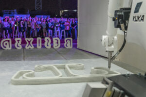 BESIX Concrete Printing Studio Opens in Dubai