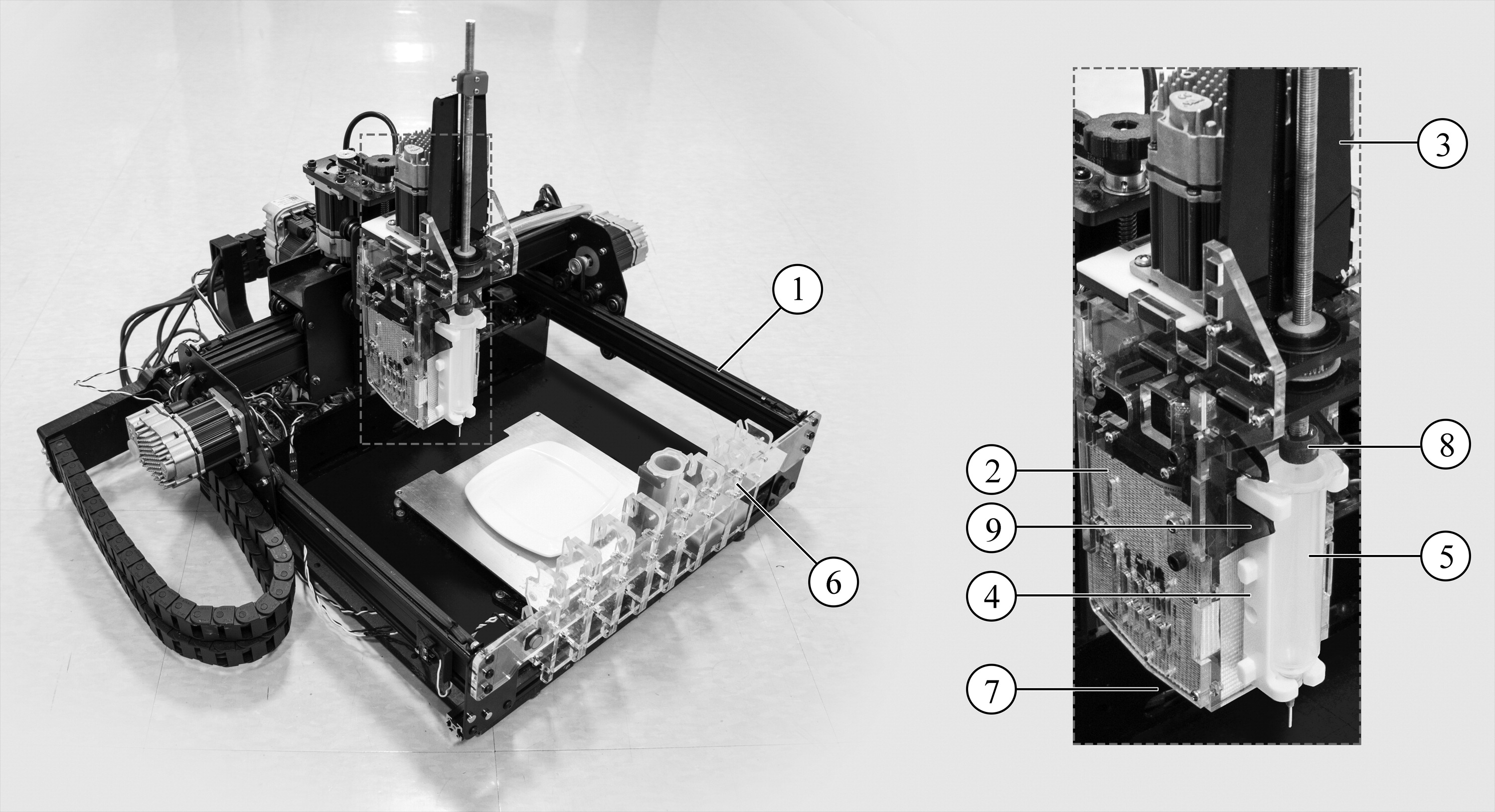 Infrared Cooking Allows Multi-Material Food Printing