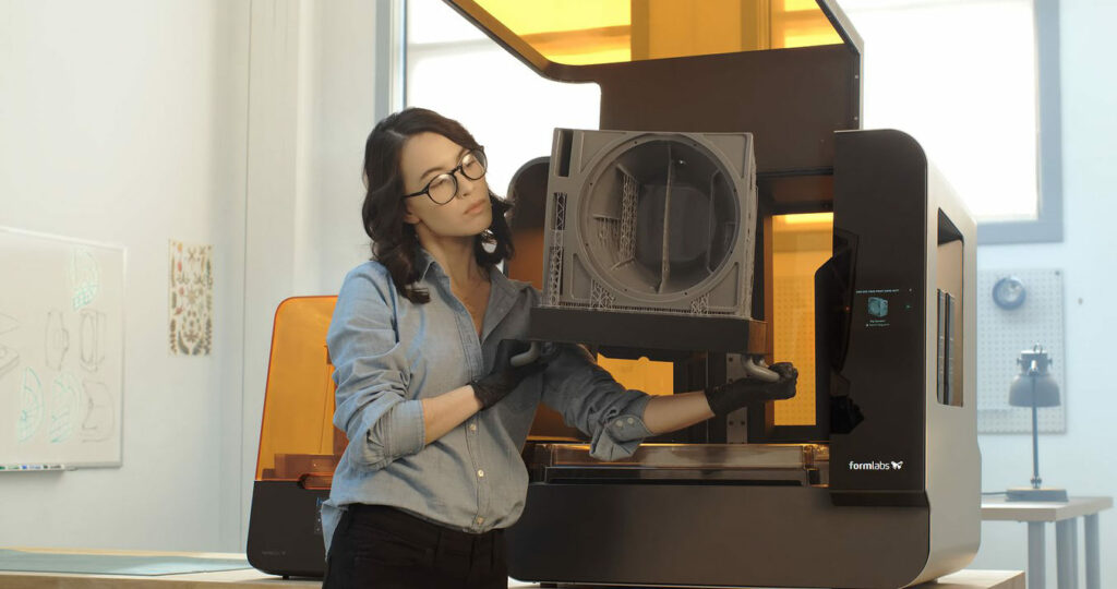 formlabs 3l huge sla 3D printer