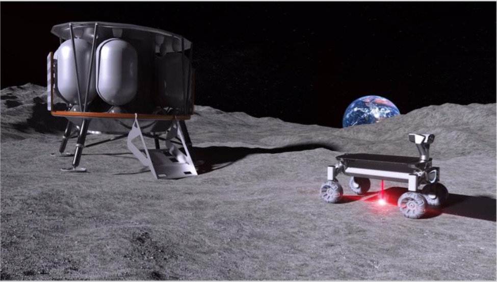 Moon Dust Printing Uses Laser Melting For Construction