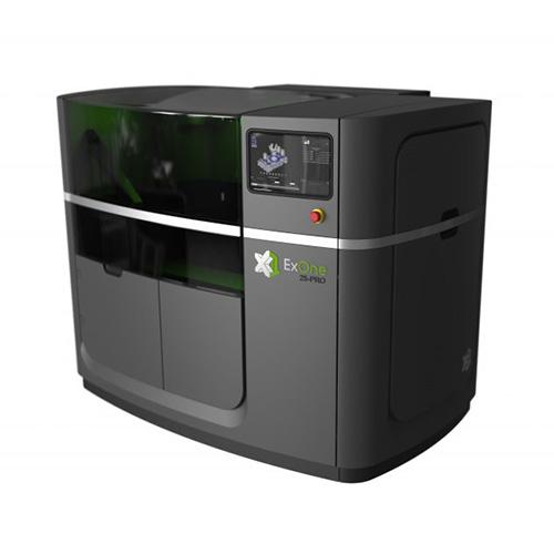 ExOne X1 25PRO binder jetting 3d printer