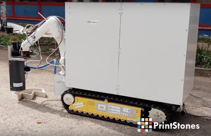 PrintStones Mobile Concrete Printer Automates Construction