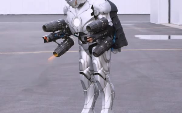 Adam Savage 3D Prints Titanium Iron Man Suit That's Bulletproof
