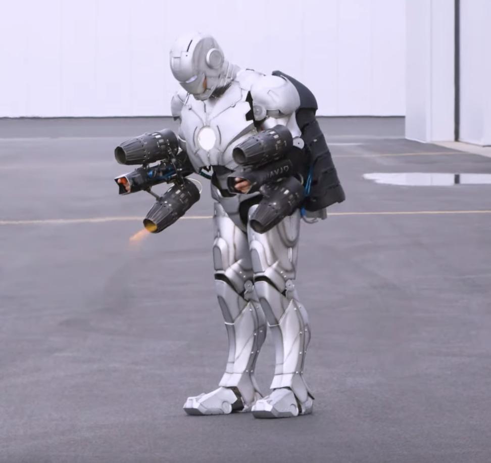 Adam Savage 3D Prints Titanium Iron Man Suit That's