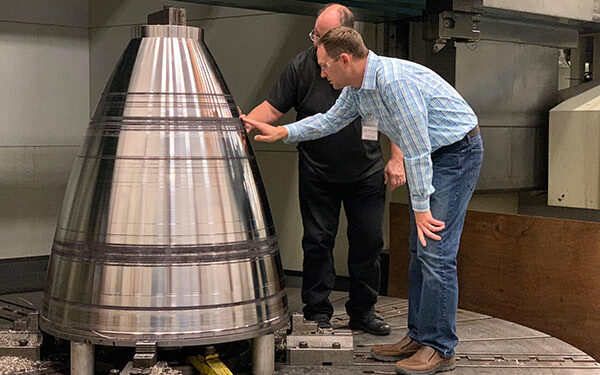 NASA uses Blown Powder Method to Scale up Rockets