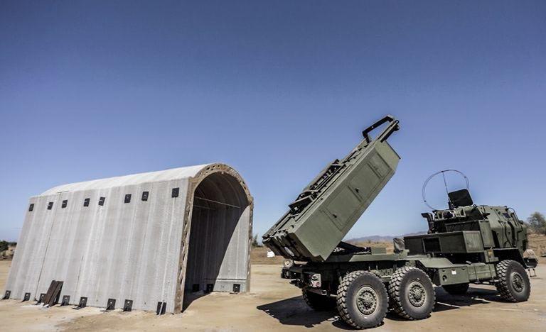 Rocket Launcher Shelter
