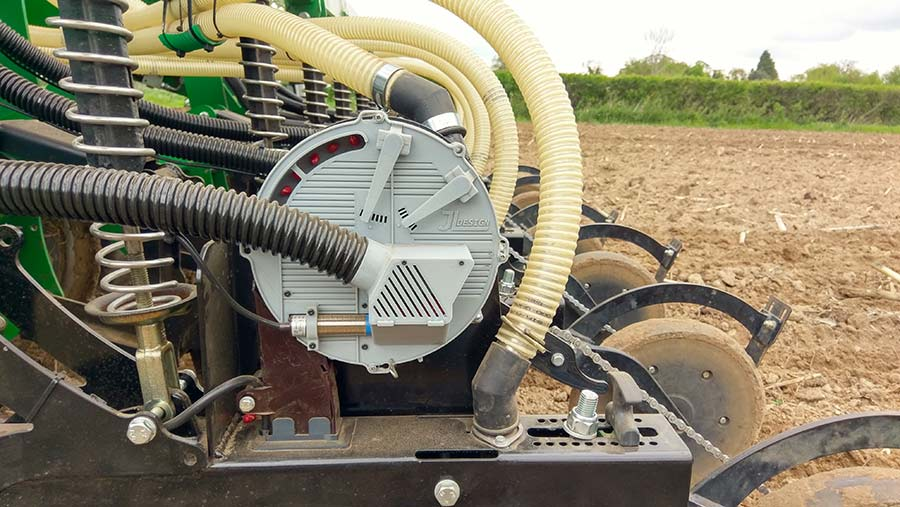 Home-built Maize Seed Metering System
