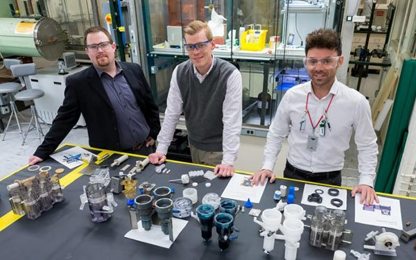 3D Printed Device Recycles Nuclear Waste