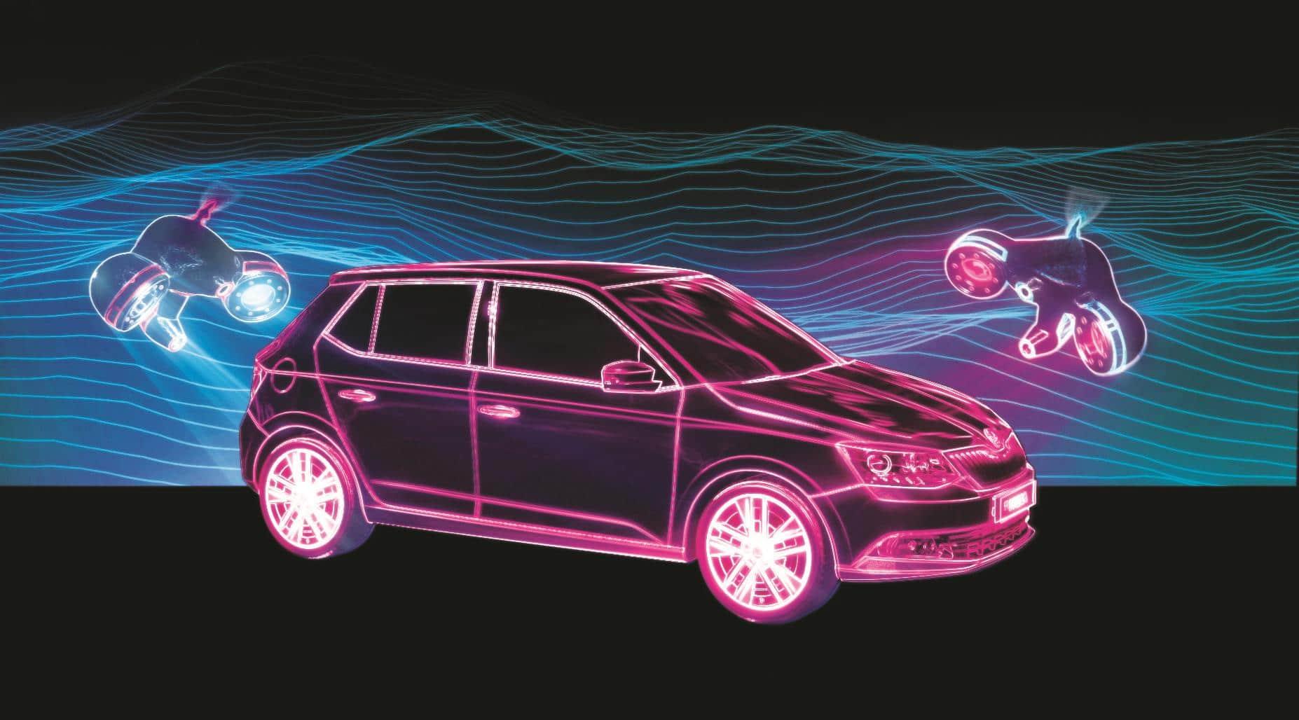 Projection Mapping Hyundai