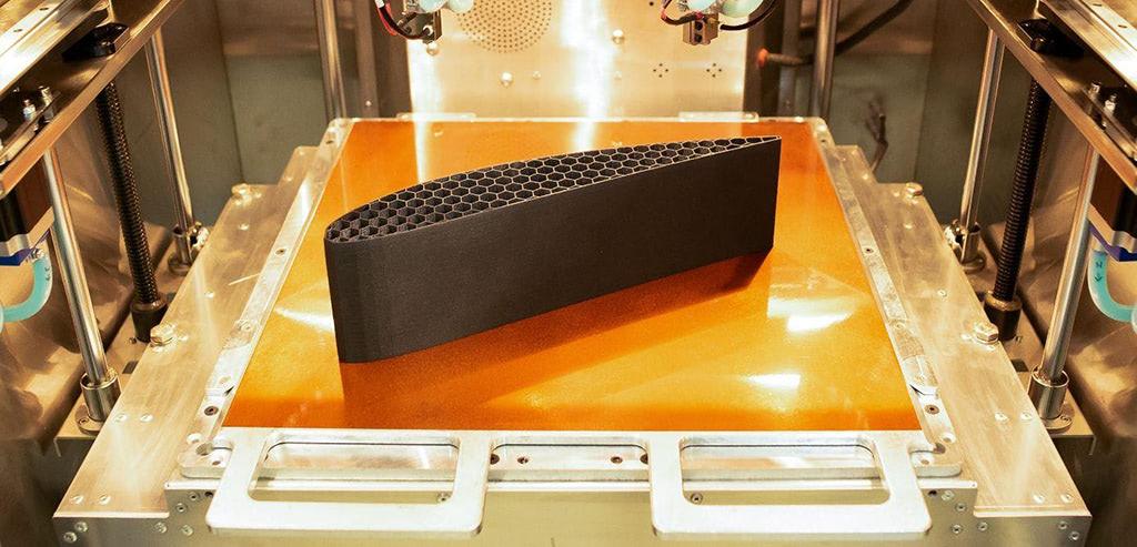 Pièce PEEK en fibre de carbone Solvay KetaSpire®
