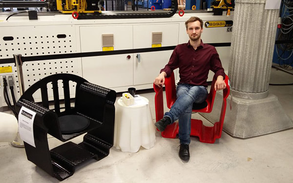 3D Printing Seating With BLB Industries