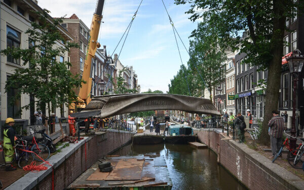 Two New 3D Printed Bridges Unveiled to the Public
