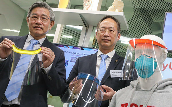 Polytechnic University 3D Prints Face Shields to Combat Coronavirus