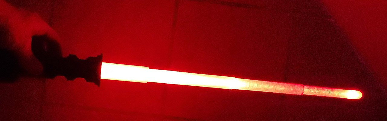 3d printed light saber
