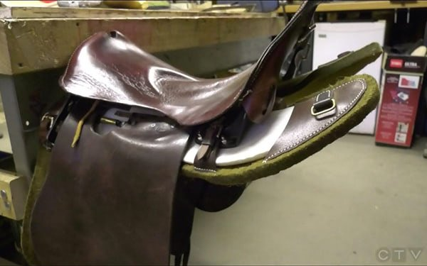 3D Printed Saddles Keep Canadian Military Tradition Alive