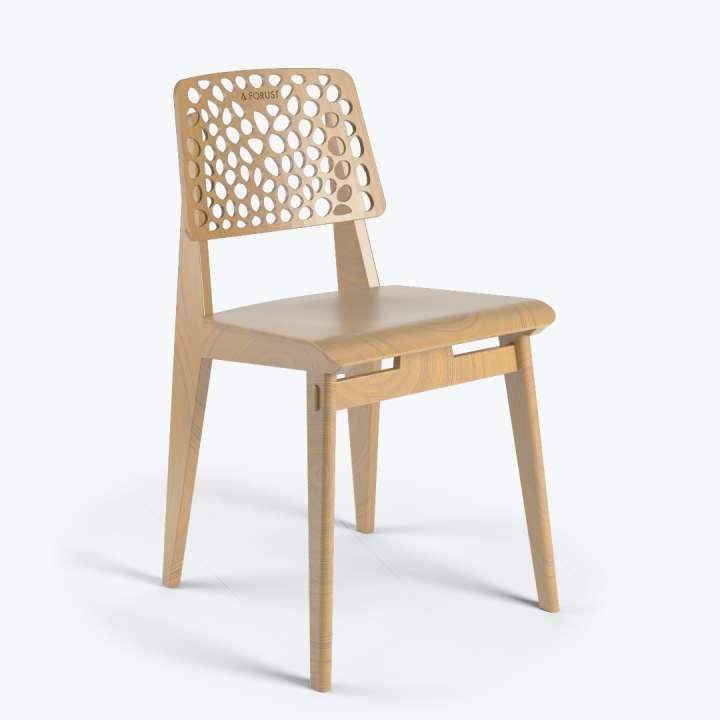 3d printed wood chair