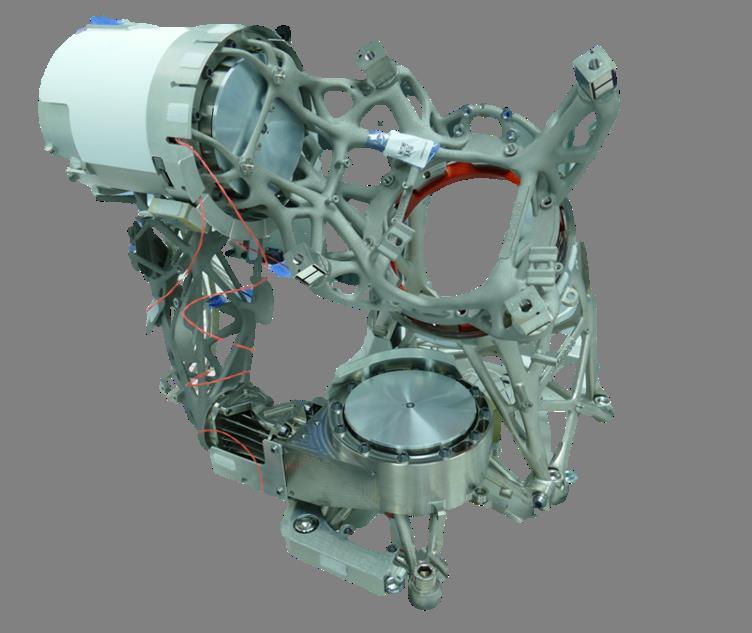 satellite parts assembled