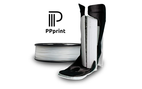 PPprint launches world's first break-away support material for 3D printing of polypropylene