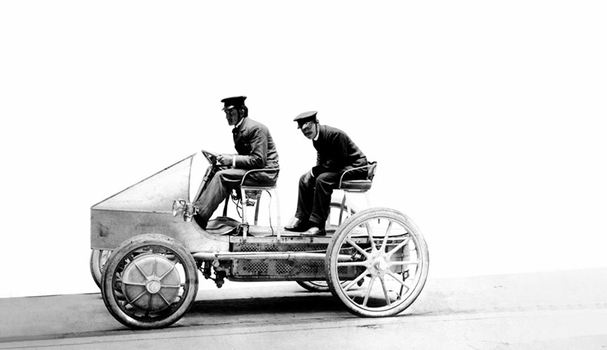 Ferdinand Porsche's EV