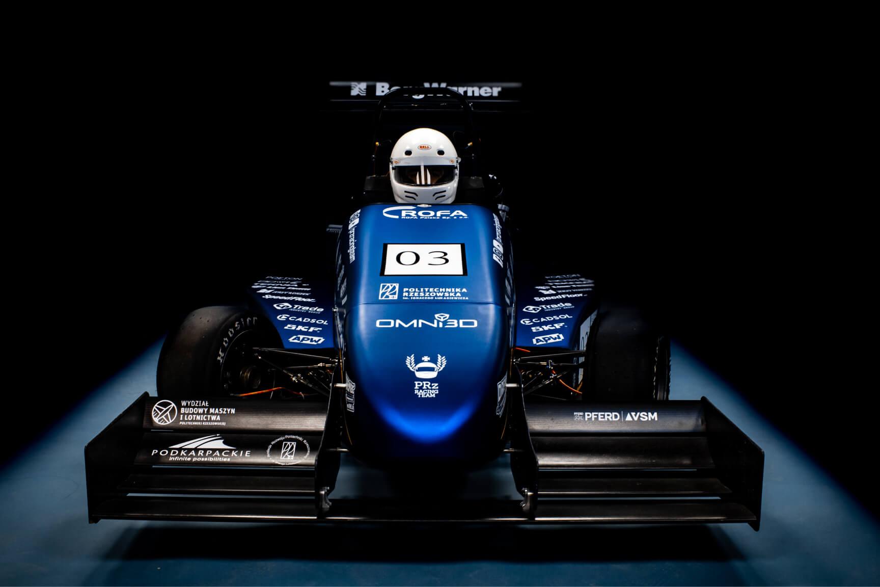 PMT-03 race car