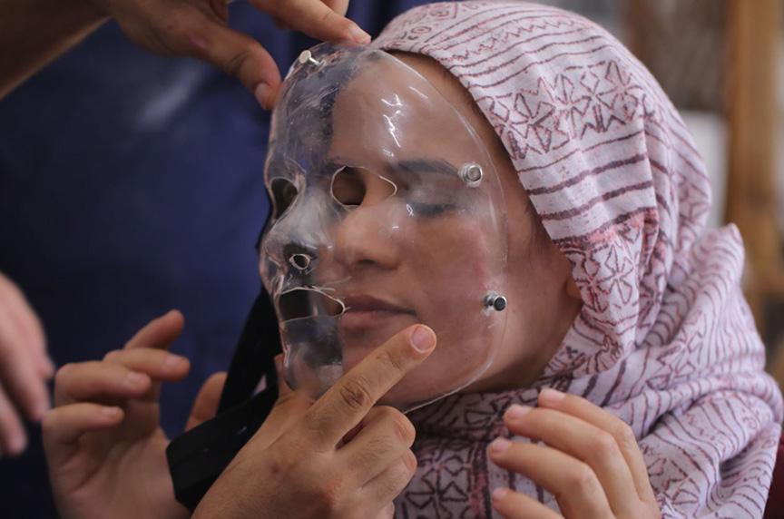 mask gaza