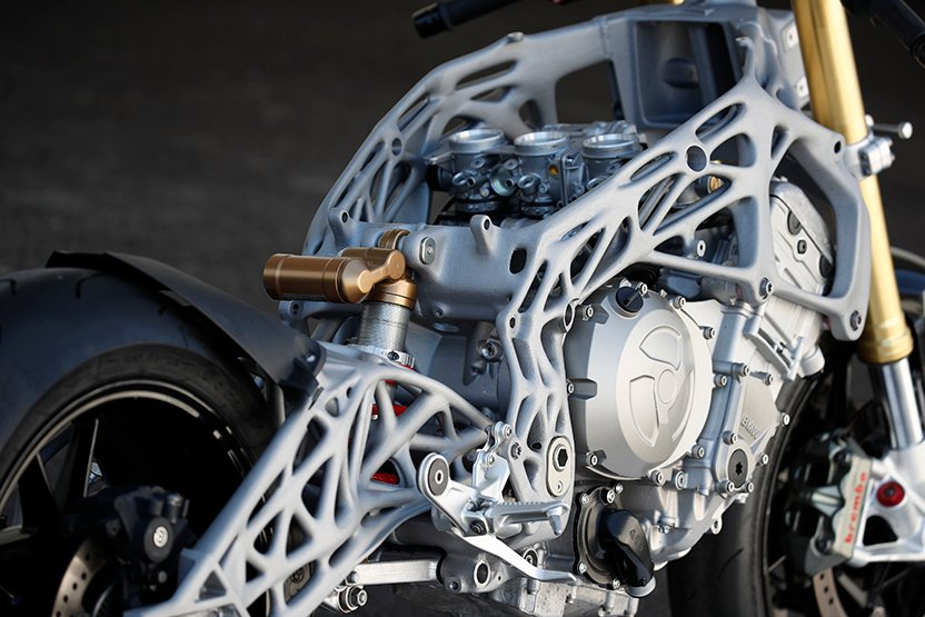 BMW 3D Printing Superbike Components at the Track