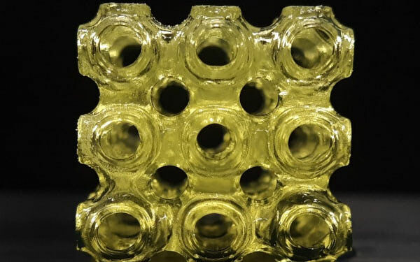 Creating Ferroelectric Metamaterials with 3D Printing