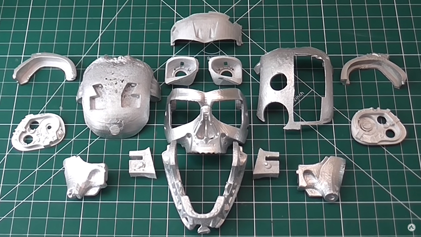 terminator skull parts