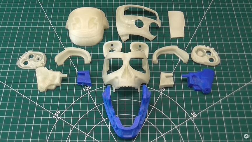 PLA parts