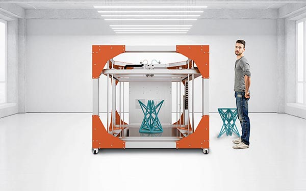 Large Scale 3D Printers Big Enough to Print Furniture