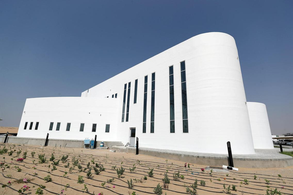 Dubai Unveils World's Largest On-Site 3D Printed Building