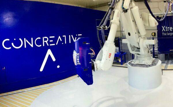 XtreeE Installs Construction 3D Printer In Dubai