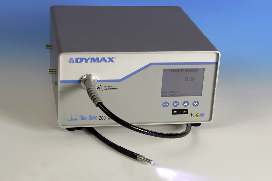 Dymax Spot Curing System for 3D Print Repair