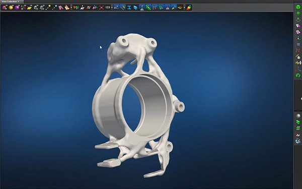 Save Time Optimizing For 3D Printing With MSC Apex Generative Design